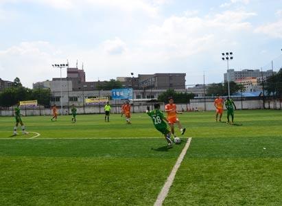 广州现代肿瘤医院,足球联盟